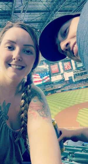 Kate attended Arizona Diamondbacks vs. Chicago Cubs - MLB on Jul 17th 2021 via VetTix