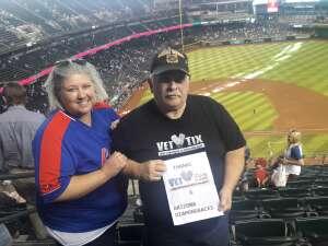 Ed attended Arizona Diamondbacks vs. Chicago Cubs - MLB on Jul 17th 2021 via VetTix
