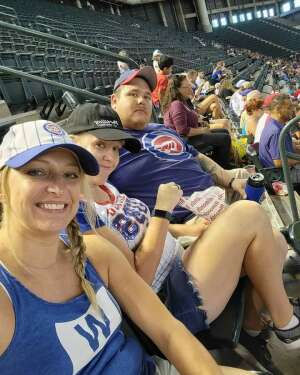 Sean attended Arizona Diamondbacks vs. Chicago Cubs - MLB on Jul 17th 2021 via VetTix