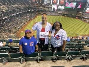 Some dude attended Arizona Diamondbacks vs. Chicago Cubs - MLB on Jul 17th 2021 via VetTix