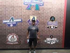 John attended Arizona Diamondbacks vs. Chicago Cubs - MLB on Jul 17th 2021 via VetTix