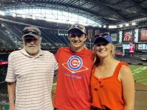 Cubs attended Arizona Diamondbacks vs. Chicago Cubs - MLB on Jul 17th 2021 via VetTix
