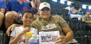 Carolyn JA attended Arizona Diamondbacks vs. Chicago Cubs - MLB on Jul 17th 2021 via VetTix