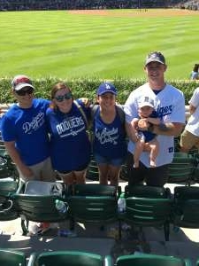 Joseline Banuelos attended Arizona Diamondbacks vs. Chicago Cubs - MLB on Jul 17th 2021 via VetTix