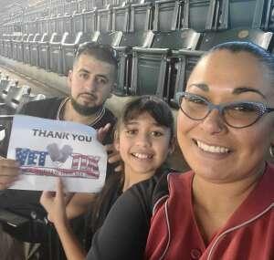 Abelardo attended Arizona Diamondbacks vs. Chicago Cubs - MLB on Jul 17th 2021 via VetTix