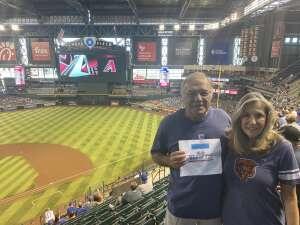 Rich attended Arizona Diamondbacks vs. Chicago Cubs - MLB on Jul 17th 2021 via VetTix