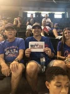 Bryan attended Arizona Diamondbacks vs. Chicago Cubs - MLB on Jul 17th 2021 via VetTix