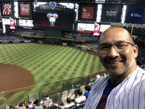 Sgt Terry Young attended Arizona Diamondbacks vs. Chicago Cubs - MLB on Jul 17th 2021 via VetTix