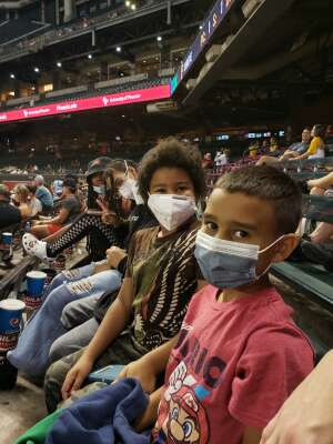 Ashley attended Arizona Diamondbacks vs. Pittsburgh Pirates - MLB on Jul 19th 2021 via VetTix