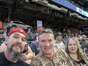Mike M attended Arizona Diamondbacks vs. Pittsburgh Pirates - MLB on Jul 19th 2021 via VetTix