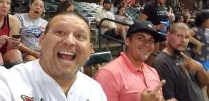 Curtis  attended Arizona Diamondbacks vs. Pittsburgh Pirates - MLB on Jul 19th 2021 via VetTix
