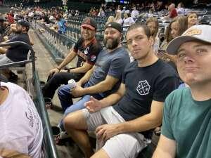 Justin attended Arizona Diamondbacks vs. Pittsburgh Pirates - MLB on Jul 19th 2021 via VetTix