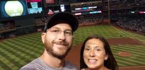 Brian attended Arizona Diamondbacks vs. Pittsburgh Pirates - MLB on Jul 19th 2021 via VetTix
