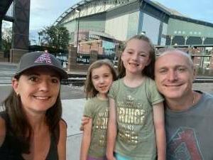 David Giusti attended Arizona Diamondbacks vs. Pittsburgh Pirates - MLB on Jul 19th 2021 via VetTix
