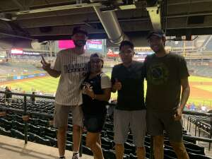 Ball game  attended Arizona Diamondbacks vs. Pittsburgh Pirates - MLB on Jul 19th 2021 via VetTix