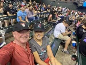 Cold War Subs Tom attended Arizona Diamondbacks vs. Pittsburgh Pirates - MLB on Jul 19th 2021 via VetTix