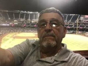 wojdaw attended Arizona Diamondbacks vs. Pittsburgh Pirates - MLB on Jul 19th 2021 via VetTix