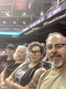 Frank Ramirez attended Arizona Diamondbacks vs. Pittsburgh Pirates - MLB on Jul 19th 2021 via VetTix