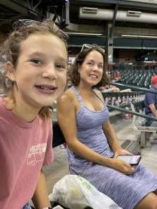 Juck attended Arizona Diamondbacks vs. Pittsburgh Pirates - MLB on Jul 19th 2021 via VetTix