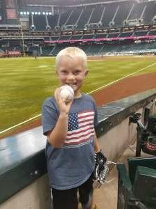 Tony S. attended Arizona Diamondbacks vs. Pittsburgh Pirates - MLB on Jul 19th 2021 via VetTix