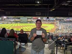 Twpinaz attended Arizona Diamondbacks vs. Pittsburgh Pirates - MLB on Jul 19th 2021 via VetTix
