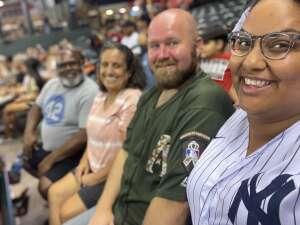 FormerSapper attended Arizona Diamondbacks vs. Pittsburgh Pirates - MLB on Jul 19th 2021 via VetTix