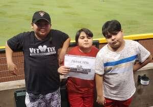 Sam attended Arizona Diamondbacks vs. Pittsburgh Pirates - MLB on Jul 19th 2021 via VetTix