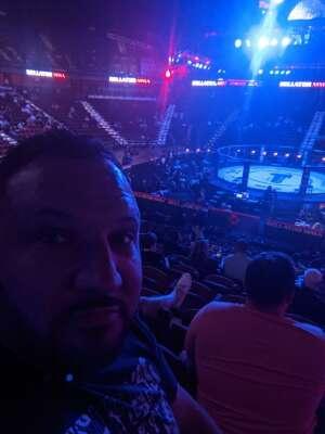 Christee  attended Lima vs. Amosov - Bellator Mixed Martial Arts on Jun 11th 2021 via VetTix