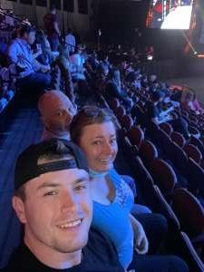 Danielle  attended Lima vs. Amosov - Bellator Mixed Martial Arts on Jun 11th 2021 via VetTix