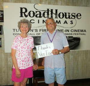 Willoie & Wife attended Roadhouse Cinemas Thursday for Vets on Jul 8th 2021 via VetTix