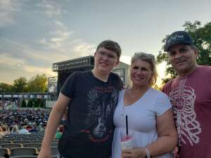 Hojo attended STYX and Collective Soul on Jun 20th 2021 via VetTix