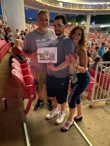 Bob Jones attended An Evening With Chicago and Their Greatest Hits on Jul 15th 2021 via VetTix