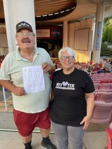 Jacques Bellairs attended An Evening With Chicago and Their Greatest Hits on Jul 15th 2021 via VetTix