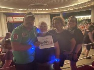 EzzyZeddy attended An Evening With Chicago and Their Greatest Hits on Jul 15th 2021 via VetTix