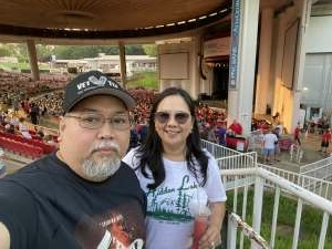 Evan Tajo attended An Evening With Chicago and Their Greatest Hits on Jul 15th 2021 via VetTix