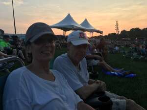 Rebeca and Bill Sass attended An Evening With Chicago and Their Greatest Hits on Jul 15th 2021 via VetTix