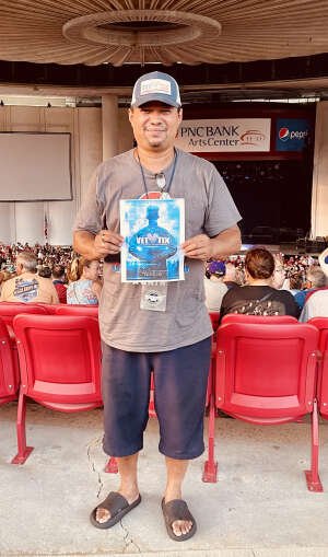 Van attended An Evening With Chicago and Their Greatest Hits on Jul 15th 2021 via VetTix