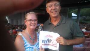 Steve attended An Evening With Chicago and Their Greatest Hits on Jul 15th 2021 via VetTix