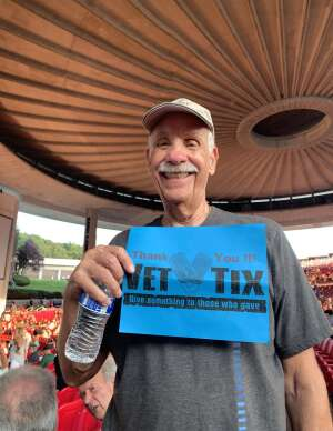 Steve P attended An Evening With Chicago and Their Greatest Hits on Jul 15th 2021 via VetTix
