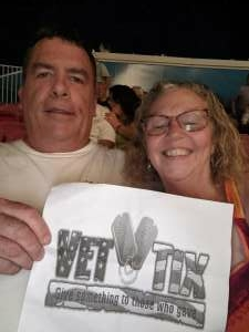 McFadden attended An Evening With Chicago and Their Greatest Hits on Jul 15th 2021 via VetTix