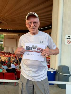Paul Anthony attended An Evening With Chicago and Their Greatest Hits on Jul 15th 2021 via VetTix