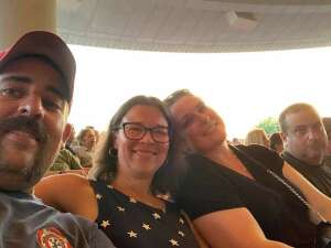 Ted attended An Evening With Chicago and Their Greatest Hits on Jul 15th 2021 via VetTix