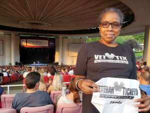 Q.  attended An Evening With Chicago and Their Greatest Hits on Jul 15th 2021 via VetTix