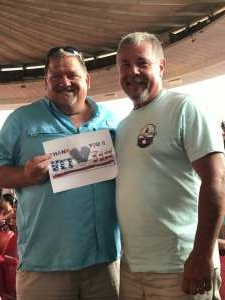 Rich attended An Evening With Chicago and Their Greatest Hits on Jul 15th 2021 via VetTix
