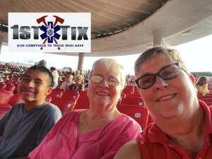 LDRACZ attended An Evening With Chicago and Their Greatest Hits on Jul 15th 2021 via VetTix