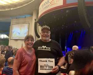 Webs attended An Evening With Chicago and Their Greatest Hits on Jul 15th 2021 via VetTix