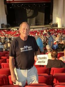 Wade attended An Evening With Chicago and Their Greatest Hits on Jul 15th 2021 via VetTix