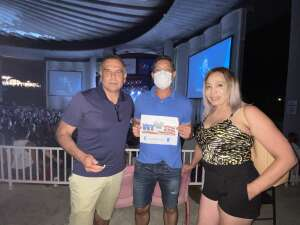 Dante attended An Evening With Chicago and Their Greatest Hits on Jul 15th 2021 via VetTix