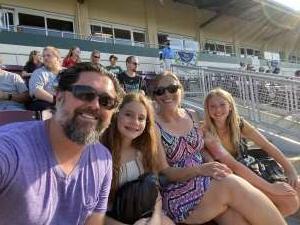 Kenny attended Dayton Dragons vs. Great Lakes Loons - MiLB on Jun 12th 2021 via VetTix