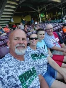 Larry  attended Dayton Dragons vs. Great Lakes Loons - MiLB on Jun 12th 2021 via VetTix